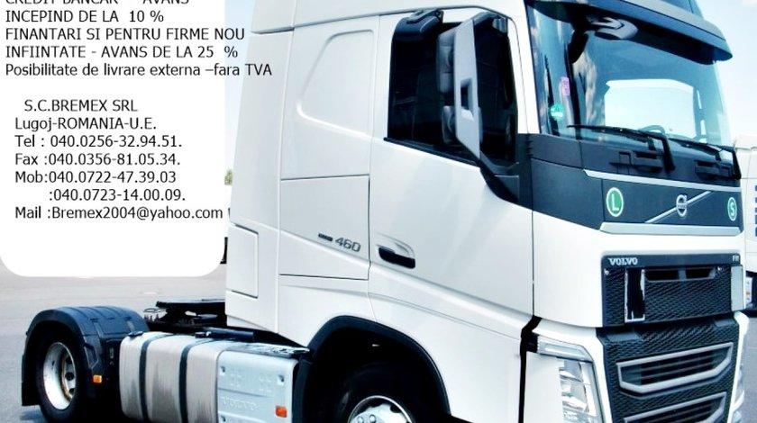 Cap tractor Volvo FH 460 Euro 6 an 2015+leasing si firme noi sau finantare cu livrare fara TVA
