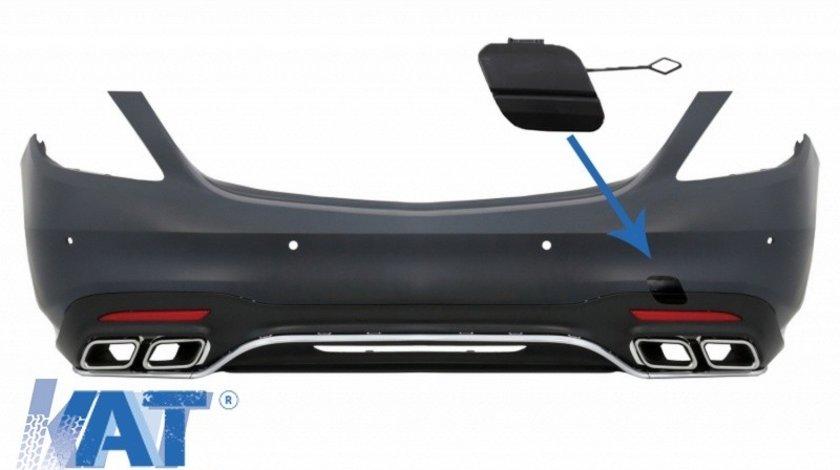 Capac carlig de remorcare Bara Spate compatibil cu Mercedes S-Class W222 Facelift (2017-UP) S63 A-Design