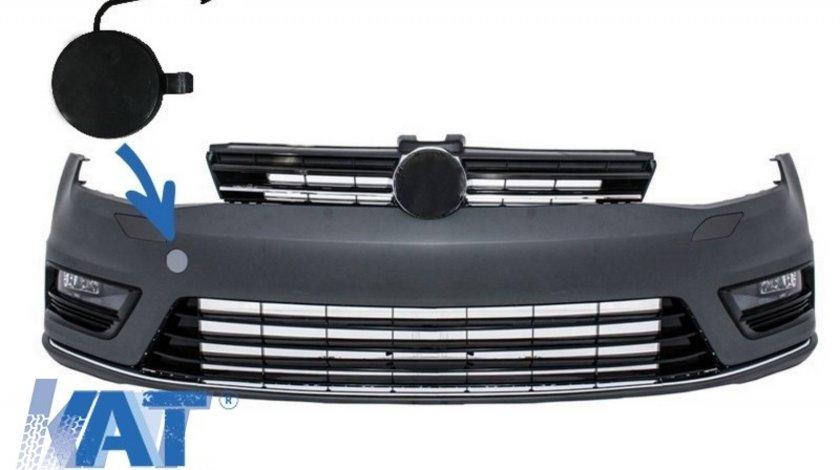 Capac Carlig Remorcare Bara Fata compatibil cu VW Golf VII 7 2013-2017 R line Look