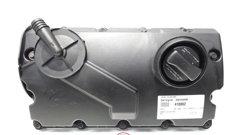 Capac culbutori, Audi A4 (8EC, B7) [Fabr 2004-2008] 2.0 tdi, BPW, 038103469R (id:418862)