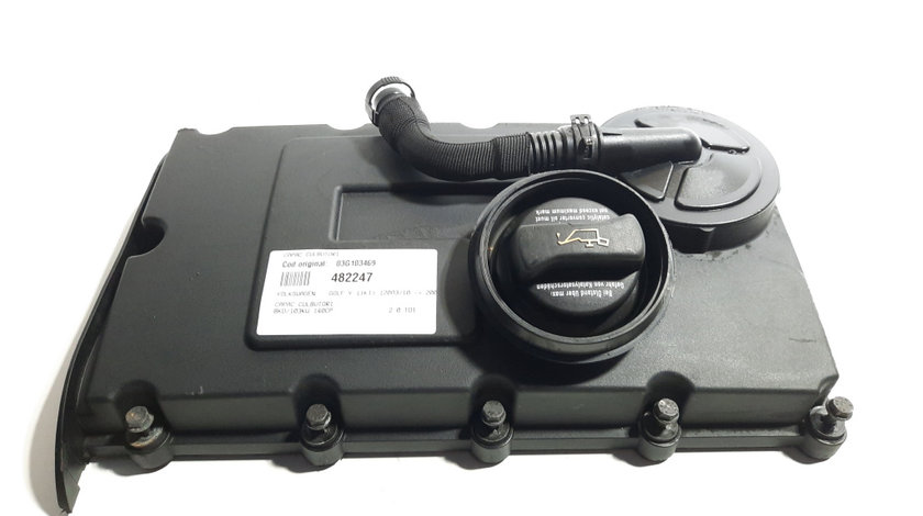 Capac culbutori, cod 03G103469, Audi A3 Sportback (8PA), 2.0 TDI, BKD (idi:482247)