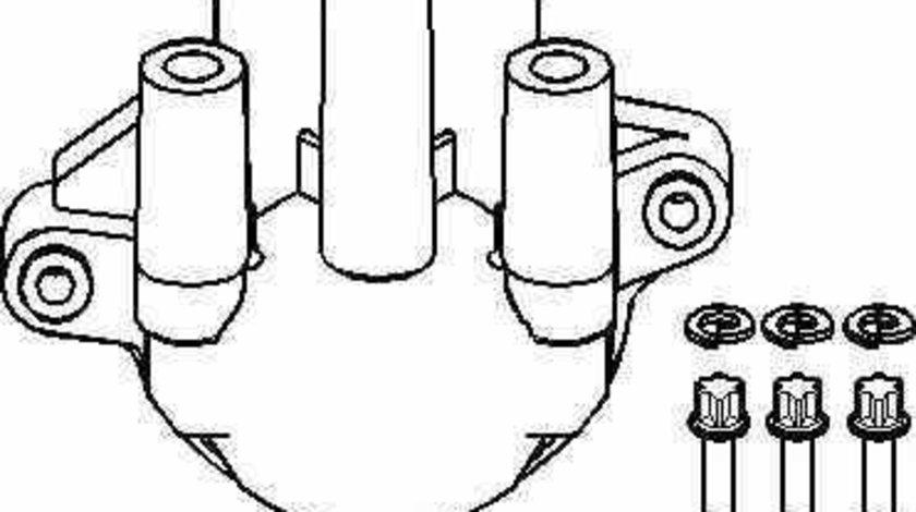 Capac delcou / distribuitor OPEL KADETT E hatchback 33 34 43 44 TOPRAN 202 009