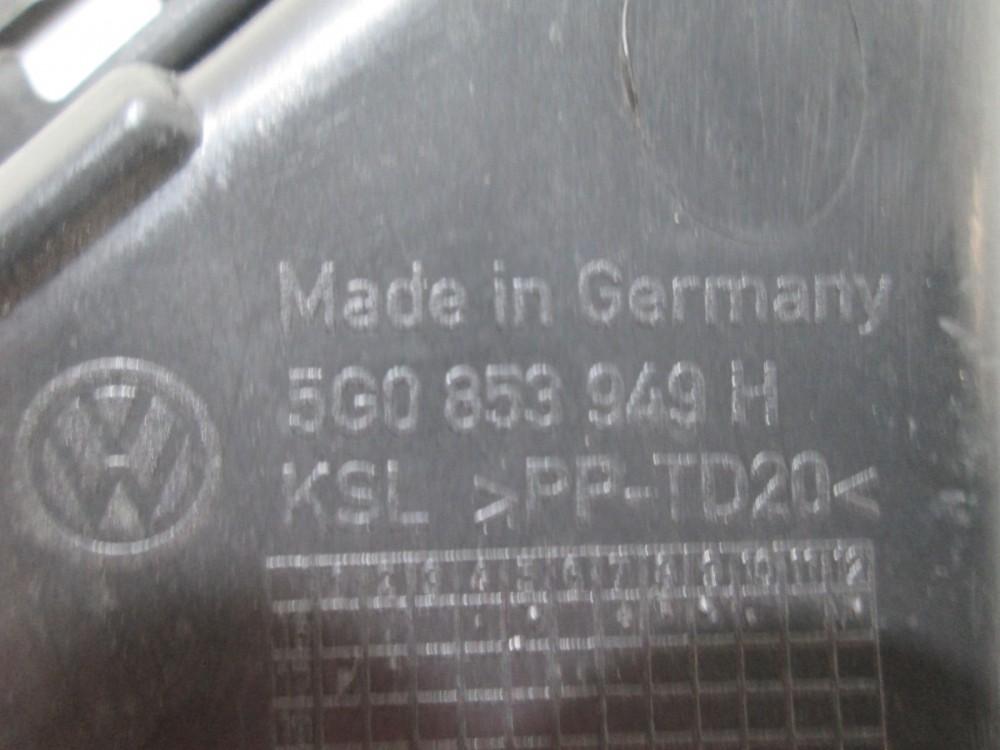 Capac interior grila centrala bara fata Vw Golf 7 GTI / GTD an 2014-2017 cod 5G0853949