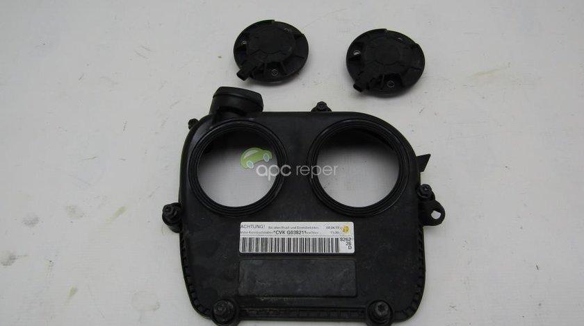 Capac motor 2,0Tfsi Audi - VW cu magneti Original Cod 06K103269F magnet 06L109259A