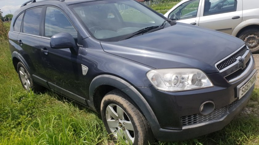 Capac motor protectie Chevrolet Captiva 2007 suv 2.0 VCDI 150cp 4x4