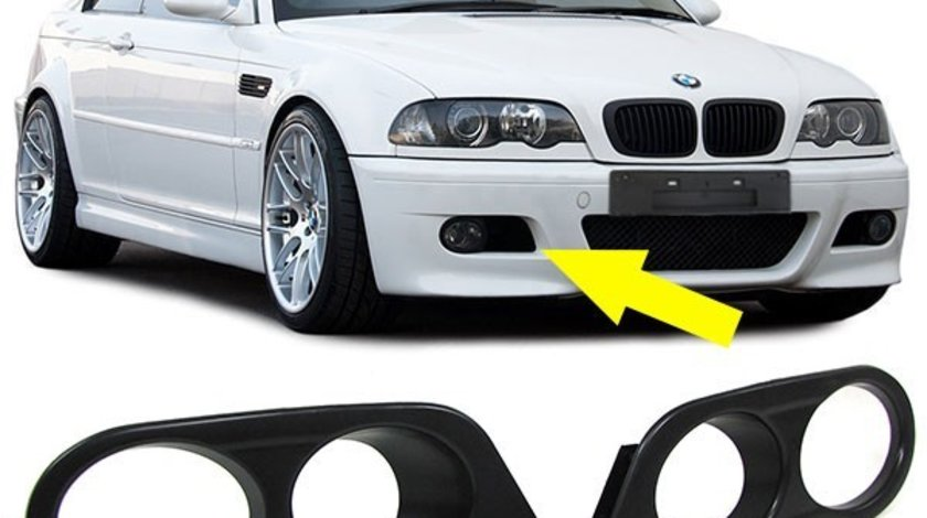 Capac Proiector Hamman BMW E46 M3 negru plastic