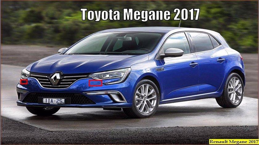 Capac spalator far Renault Megane 2016-2020