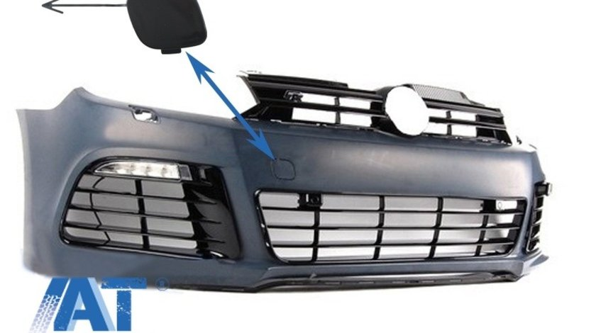 Capac Tractare Bara Fata compatibil cu VW Golf VI Golf 6 (2008-2013) R20 Look