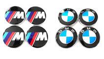Capace Capacele Embleme centrale jante roti BMW 68...