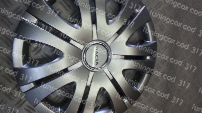 Capace Dacia r15 la set de 4 bucati cod 317