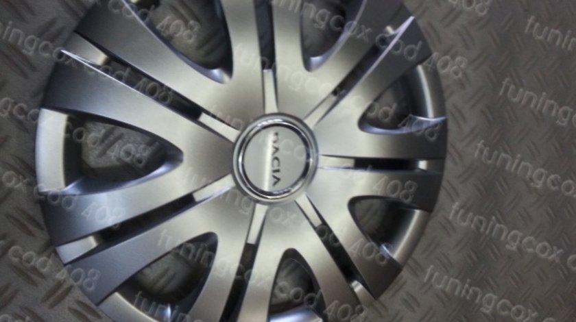 Capace Dacia r16 la set de 4 bucati cod 408