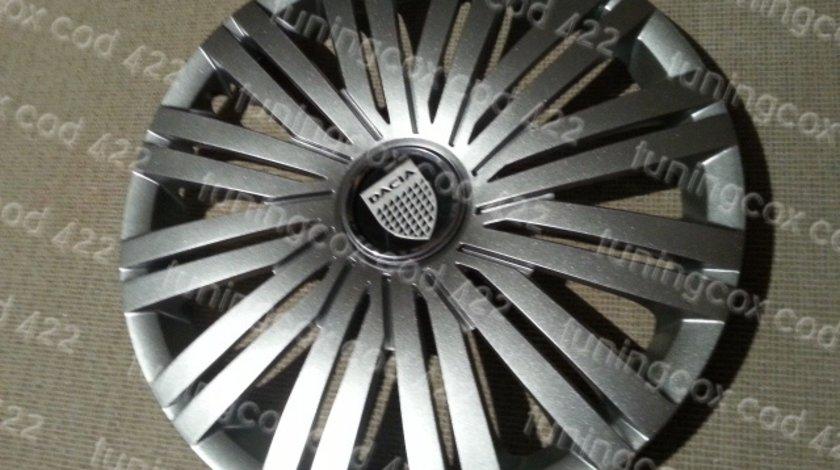 Capace Dacia r16 la set de 4 bucati cod 422