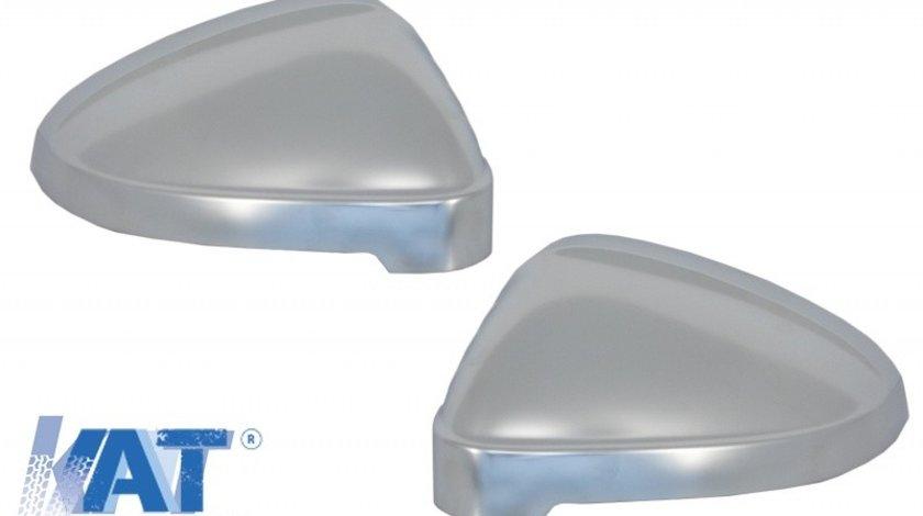 Capace de Oglinzi compatibil cu Audi A4 B9 (2016+) Aluminiu cu Side Assist
