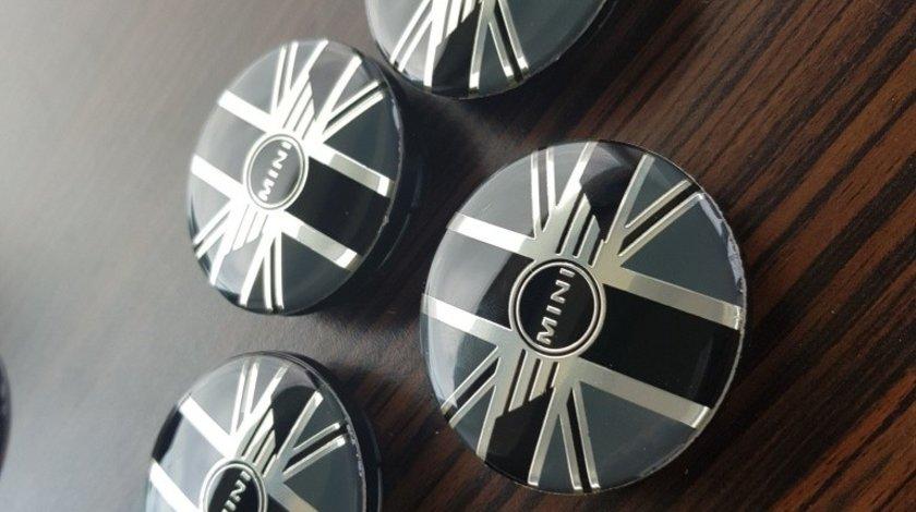 Capace janta aliaj Mini Cooper british logo negre