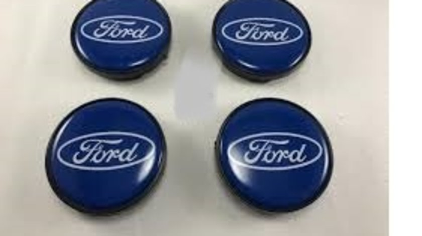 Capace janta ford 51mm-56mm albastre