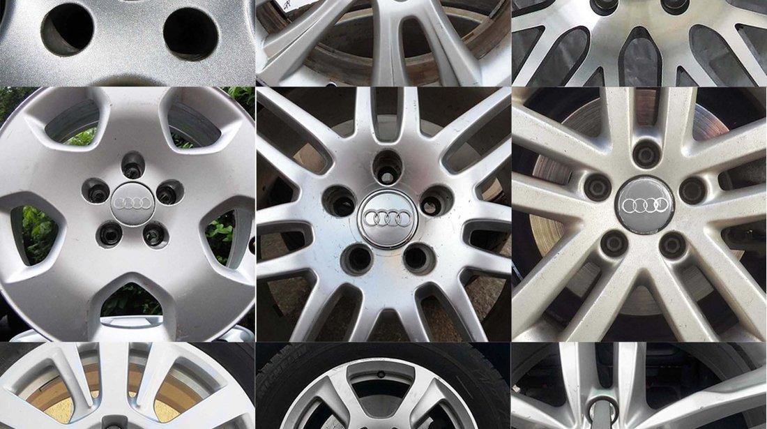 "Capace Jante aliaj Audi A3 A4 A6 cod 4B0 601 170 – gri / negre - 15"" 16"" 17"" 18"" 19"""