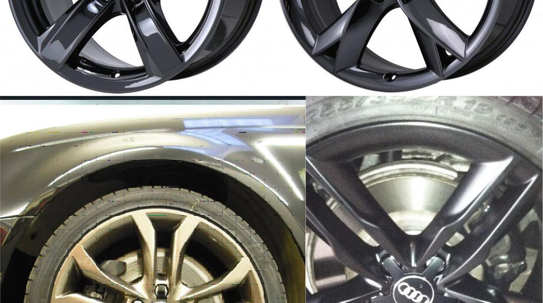 "Capace Jante Audi A3 A4 A5 A6 A8 Q5 Q7 – gri / negre - 15"" 16"" 17"" 18"" 19"""