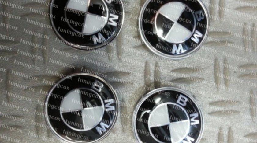 Capace jante BMW alb cu negru