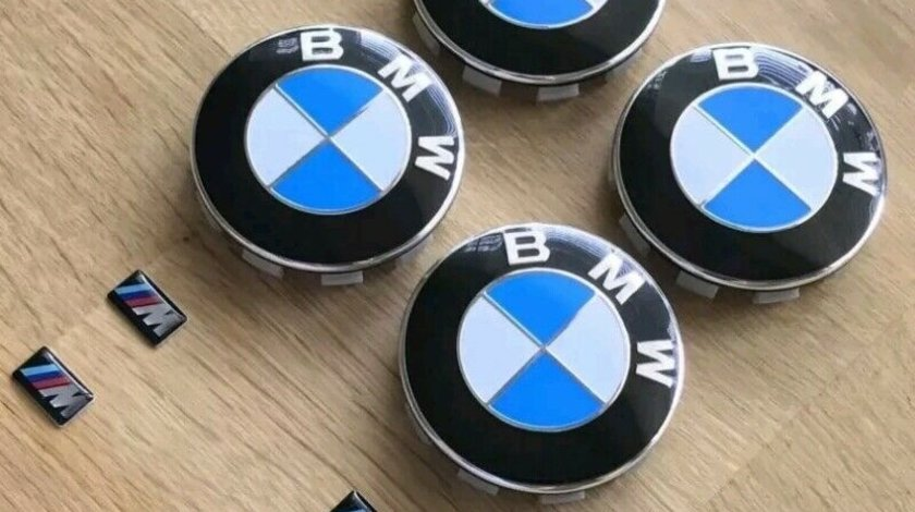Capace jante bmw si logo siliconate M///