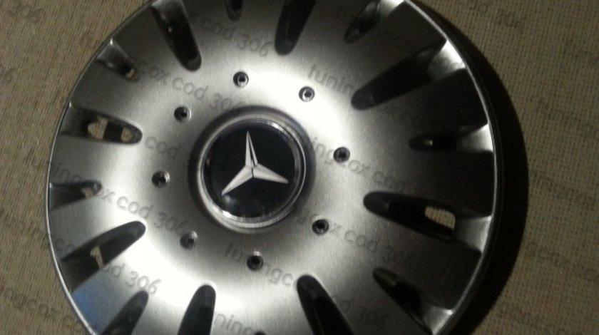 Capace Mercedes r15 la set de 4 bucati cod 306
