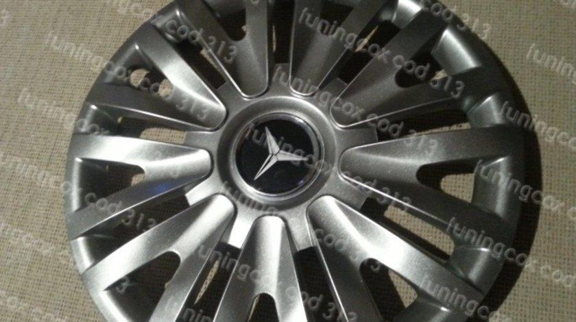 Capace Mercedes r15 la set de 4 bucati cod 313