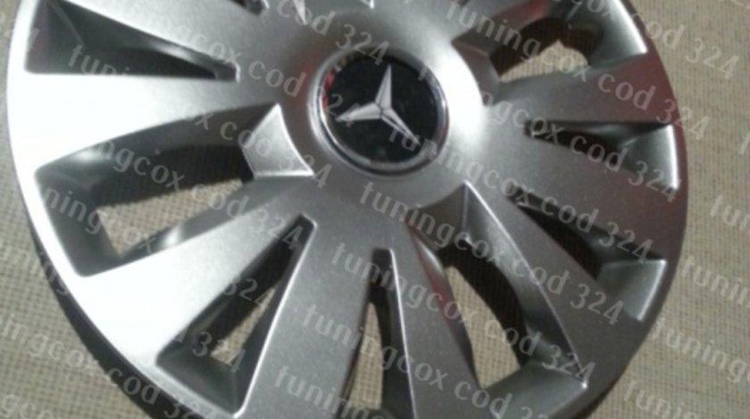 Capace Mercedes r15 la set de 4 bucati cod 324