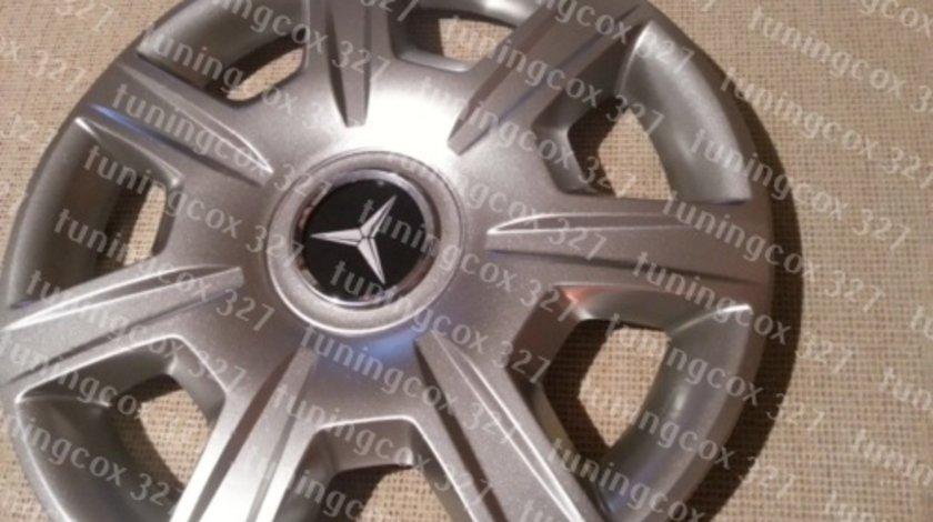 Capace Mercedes r15 la set de 4 bucati cod 327