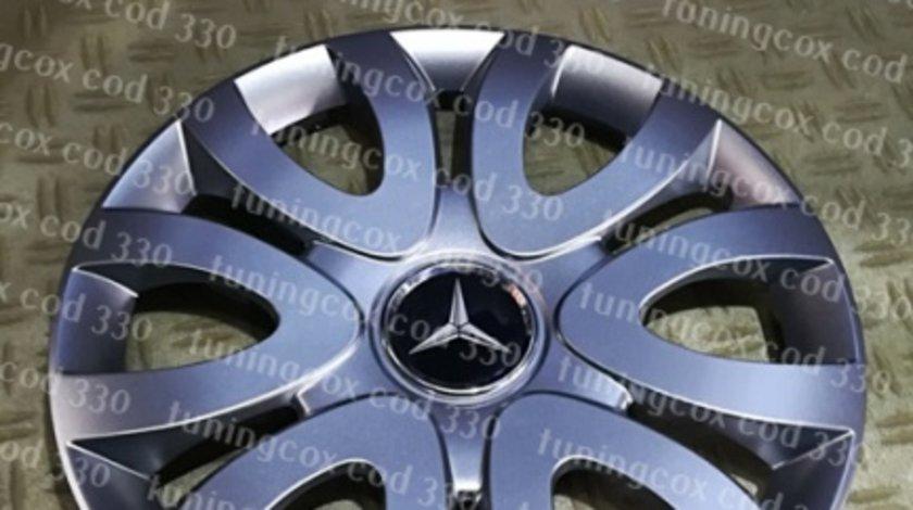 Capace Mercedes r15 la set de 4 bucati cod 330