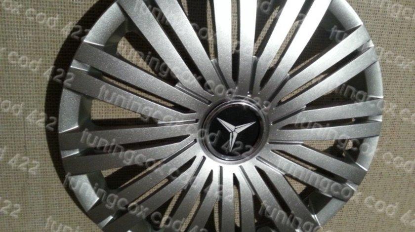 Capace Mercedes r16 la set de 4 bucati cod 422