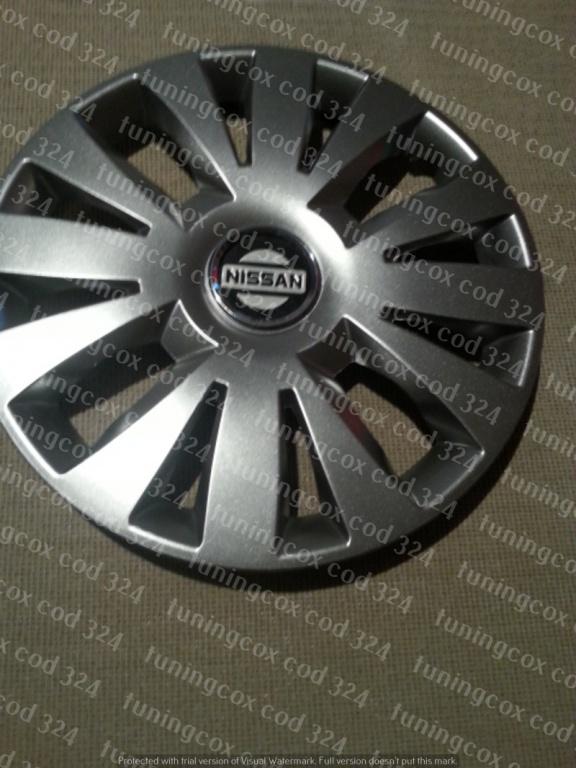 Capace Nissan r15 la set de 4 bucati cod 324