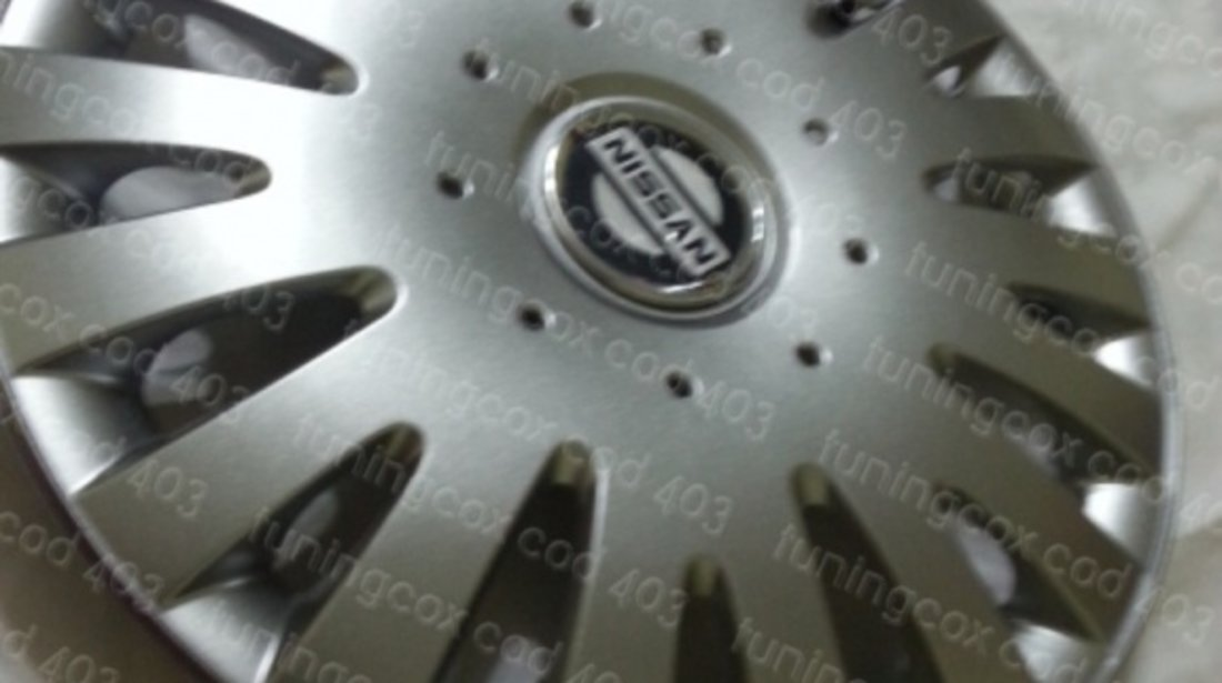 Capace Nissan r16 la set de 4 bucati cod 403