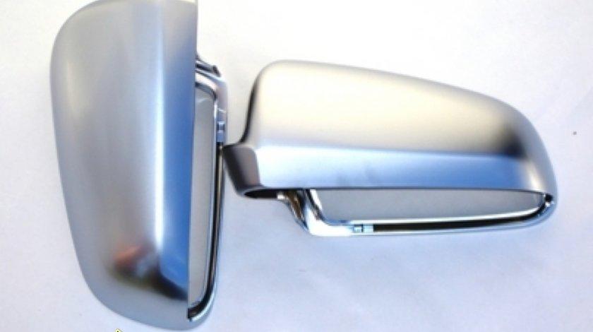 Capace oglinzi Audi A3 8P A4 B6 B7 B8 A6 4F Aluminiu mat