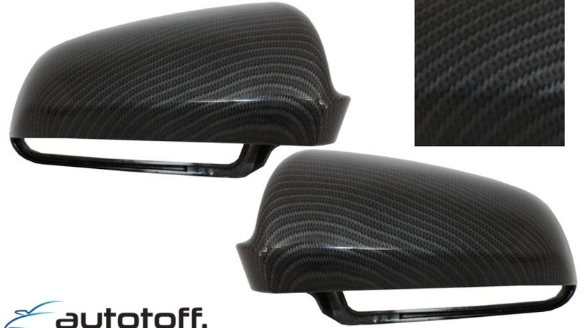Capace oglinzi Audi S3 A3 (8P), S4 A4 (B6, B7), S6 A6 (4F) Carbon Design