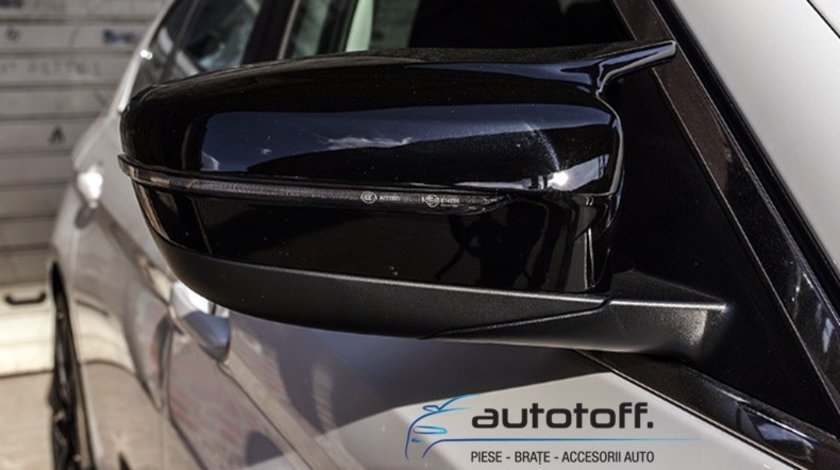 Capace oglinzi BMW G11 G12 G30 G31 Seria 5 (2015+) Black Look