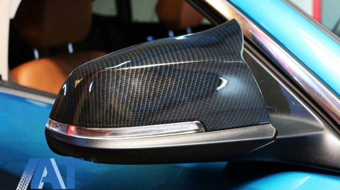 Capace oglinzi compatibil cu BMW Seria 1/2/3/4 Carbon Real