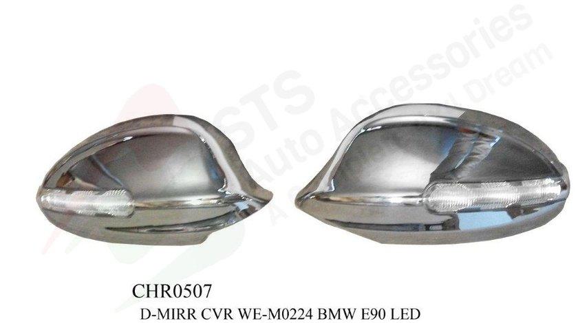 CAPACE OGLINZI CROMATE BMW SERIA 3 E90