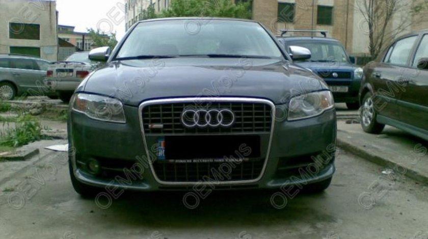 Capace oglzini aluminiu mat de S pentru Audi A4/S4/Cabrio