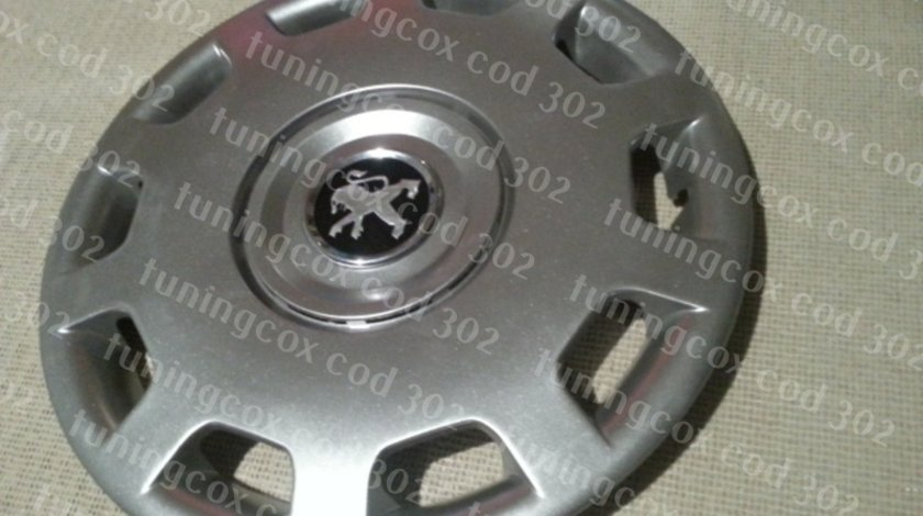 Capace Peugeot r15 la set de 4 bucati cod 302