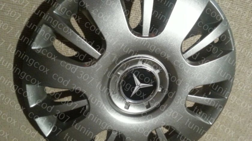 Capace r15 Mercedes la set de 4 bucati cod 307