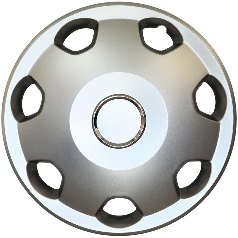 Capace roata 13 inch tip Opel, culoare Silver 13-106