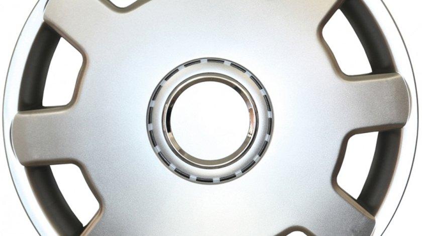Capace roata 13 inch tip Seat, culoare Silver 13-105