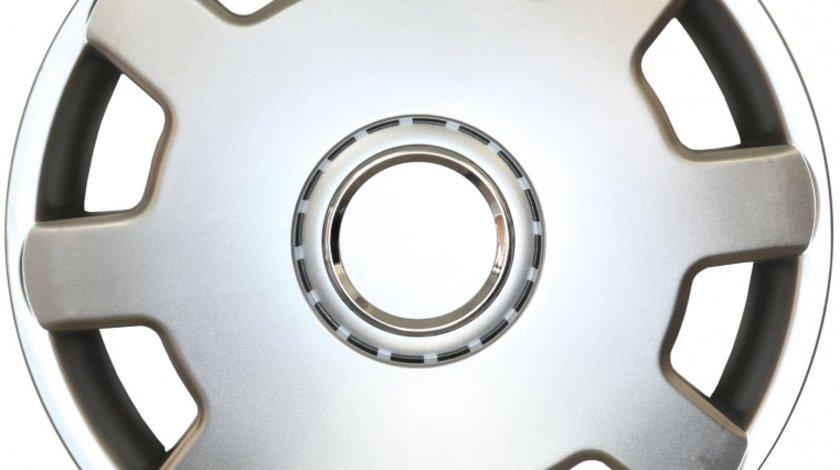 Capace roata 13 inch tip Vw, culoare Silver 13-105