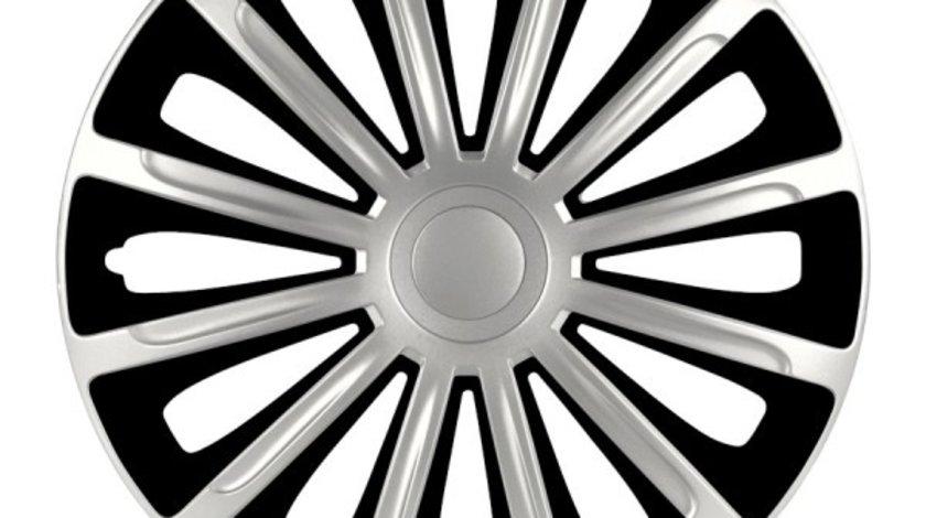 Capace roata 13 inch Trend DC, Negru si Argintiu