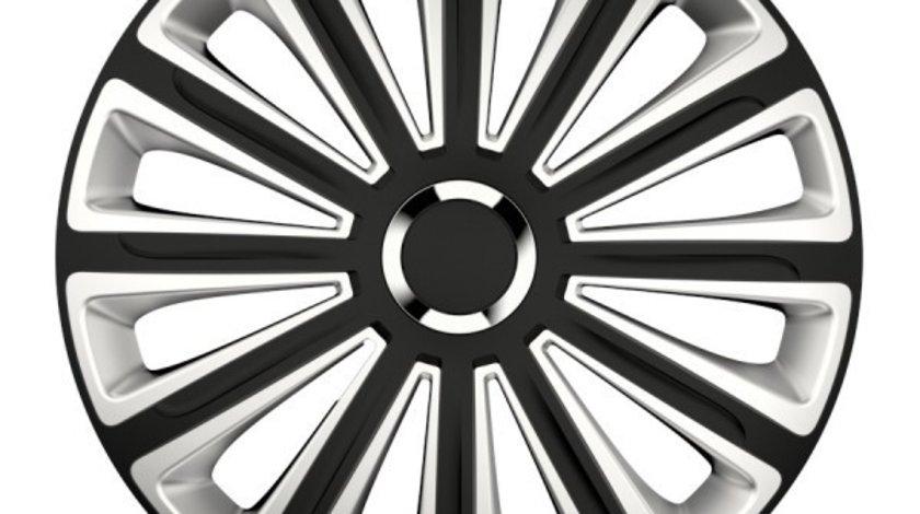 Capace roata 13 inch Versaco Trend RC, Argintiu si Negru