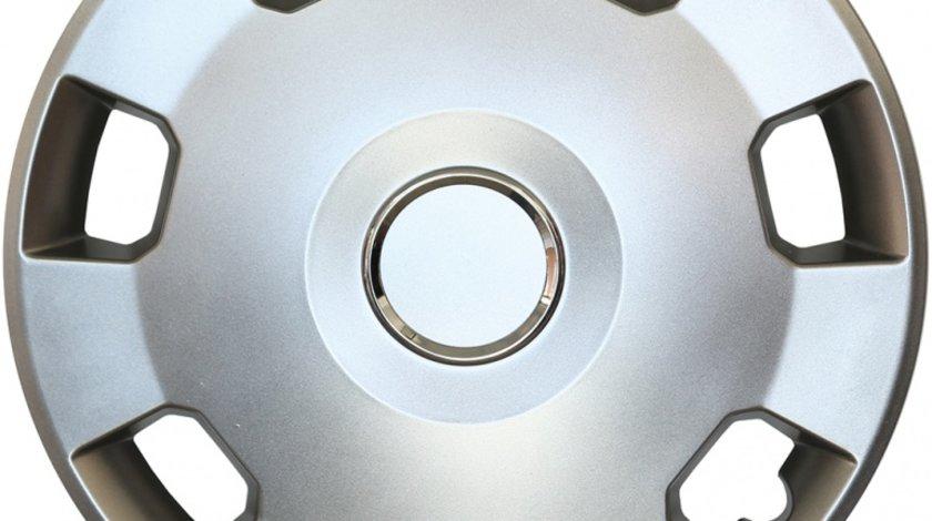 Capace roata 14 inch tip Opel, culoare Silver 14-207