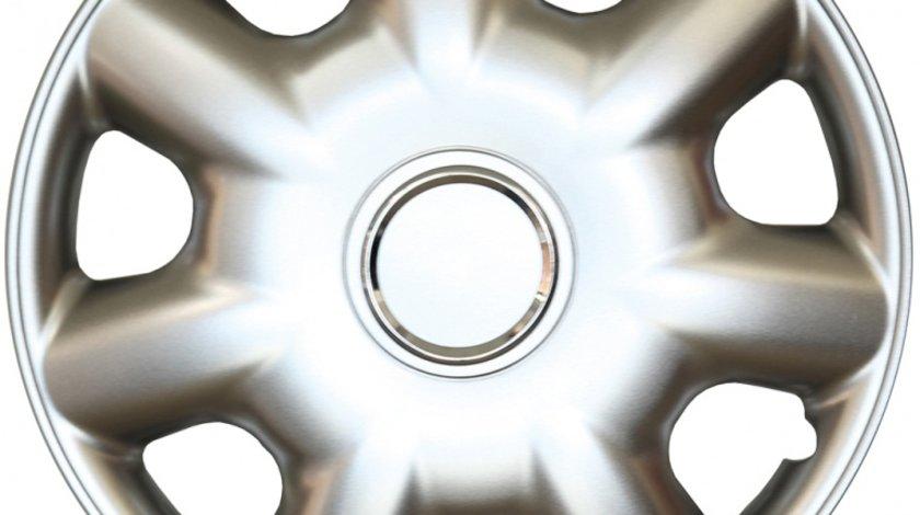 Capace roata 14 inch tip Toyota, culoare Silver 14-218