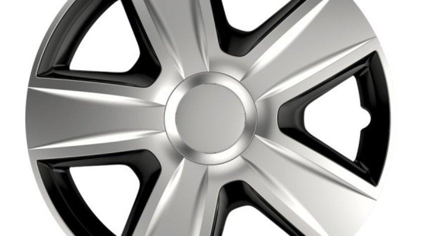 Capace roata 15 inch Esprit DC, Negru si Argintiu