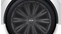 Capace roata 15 inch Giga Black Kft Auto