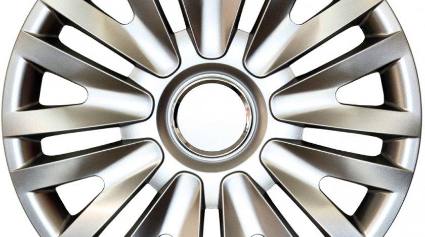 Capace roata 15 inch tip Vw, culoare Silver 15-313 Kft Auto