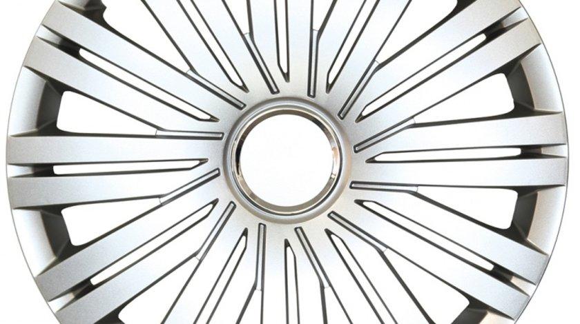 Capace roata 15 inch tip Vw, culoare Silver 15-339
